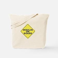 Insulin on board Tote Bag