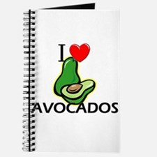 I Love Avocados Journal