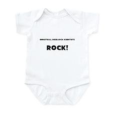 Industrial Research Scientists ROCK Infant Bodysui