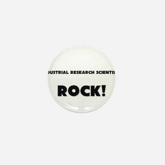Industrial Research Scientists ROCK Mini Button