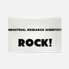 Industrial Research Scientists ROCK Rectangle Magn