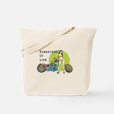 Life Pleasures Tote Bag