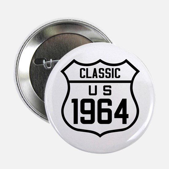 "Classic US 1964 2.25"" Button"