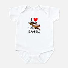 I Love Bagels Infant Bodysuit