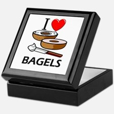 I Love Bagels Keepsake Box