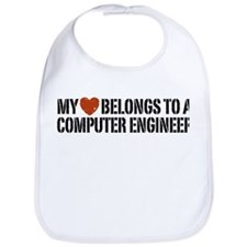 My Heart Belongs to a Computer Engineer Bib