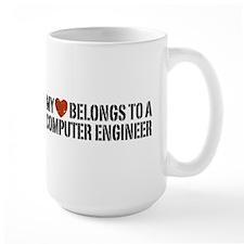 My Heart Belongs to a Computer Engineer Mug