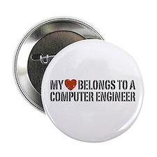 """My Heart Belongs to a Computer Engineer 2.25"""" Butt"""