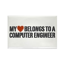 My Heart Belongs to a Computer Engineer Rectangle