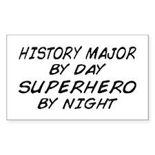 History Major Superhero by Night Decal