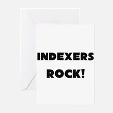 Indexers ROCK Greeting Cards (Pk of 10)