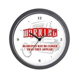 Dates closer than they appear Wall Clocks