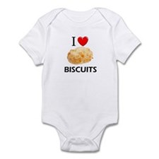 I Love Biscuits Infant Bodysuit