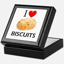 I Love Biscuits Keepsake Box
