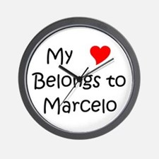 Cool Marcelo Wall Clock