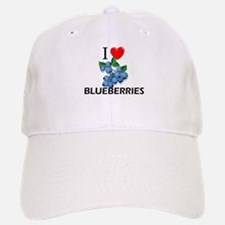 I Love Blueberries Baseball Baseball Cap