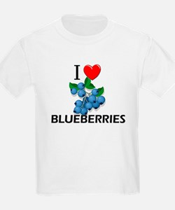 I Love Blueberries T-Shirt