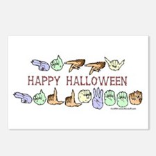 HalloweenCC Postcards (Package of 8)