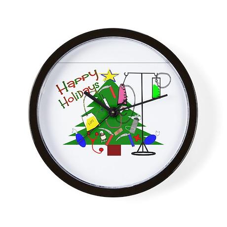 Holiday Nurse/Medical Wall Clock