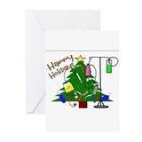 Holiday nurse Greeting Cards