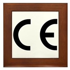 CE Mark Framed Tile