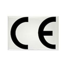 CE Mark Rectangle Magnet