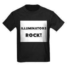 Illuminators ROCK Kids Dark T-Shirt