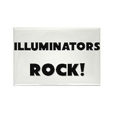 Illuminators ROCK Rectangle Magnet