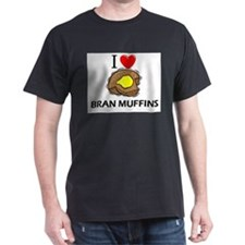 I Love Bran Muffins T-Shirt