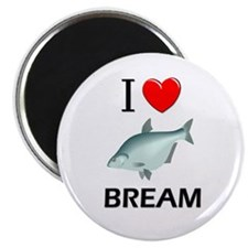 I Love Bream Magnet