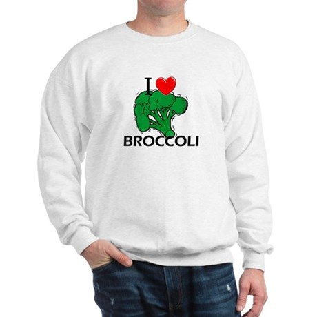 I Love Broccoli Sweatshirt
