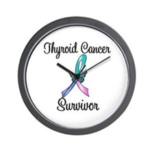 Thyroid Cancer Survivor Wall Clock