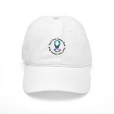 Thyroid Month Butterfly Baseball Cap