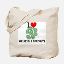 I Love Brussels Sprouts Tote Bag