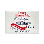 I Voted for HILLARY Rectangle Magnet (10 pack)