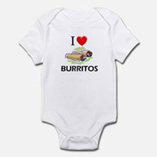 I Love Burritos Infant Bodysuit
