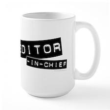 """Editor-in-Chief"" Mug"