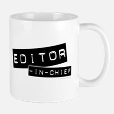 """Editor-in-Chief"" Mug"