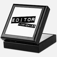 """Editor-in-Chief"" Keepsake Box"