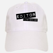 """Editor-in-Chief"" Baseball Baseball Cap"