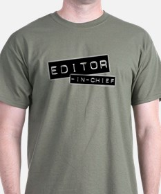 """Editor-in-Chief"" T-Shirt"