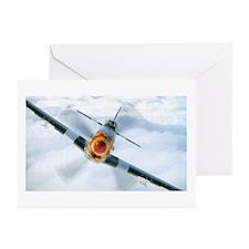 P-51 Mustang Greeting Cards (Pk of 10)