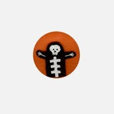 Skeleton Mini Button