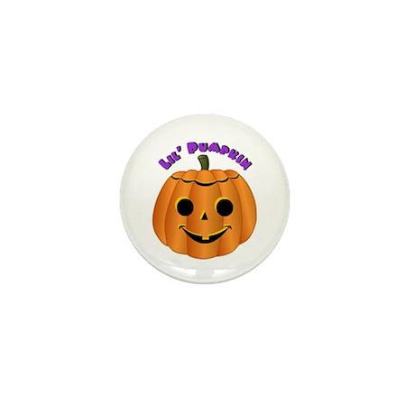 Lil' Pumpkin Mini Button