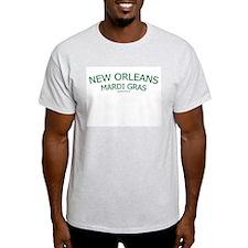 New Orleans Mardi Gras - Ash Grey T-Shirt