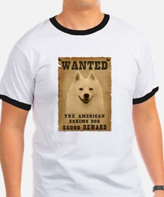 """Wanted"" American Eskimo Dog T"