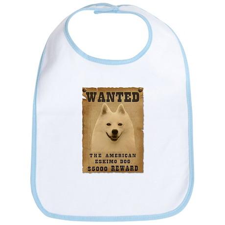 """Wanted"" American Eskimo Dog Bib"