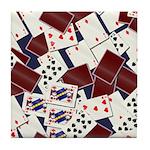 Deck of Cards Tile Coaster