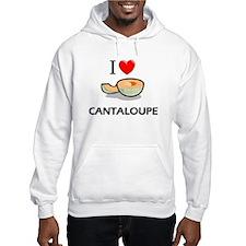 I Love Cantaloupe Hoodie