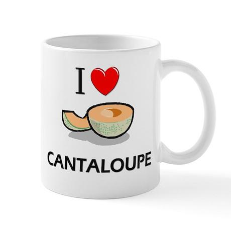 I Love Cantaloupe Mug